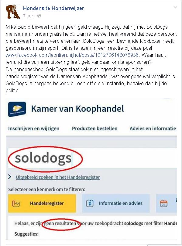 KvK solodogs