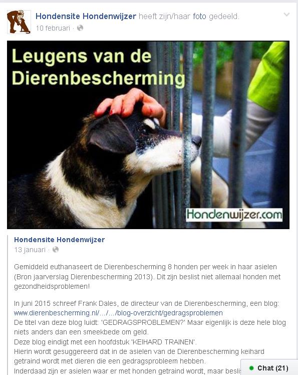 leugens dierenbescherming